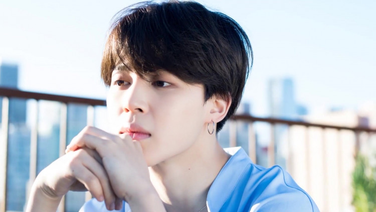 Jimin for BTS 5th anniversary party in LA photoshoot by Dispatch, May 2018