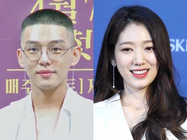 Yoo Ah In / Park Shin Hye