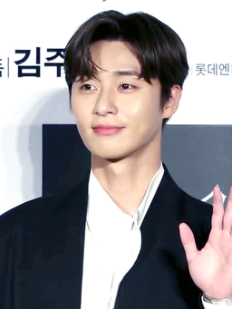 Park Seo Joon in an interview with Peakboy