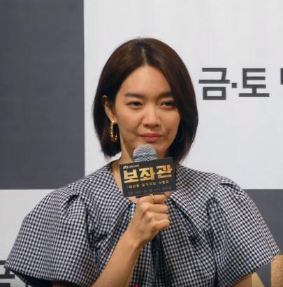 "Shin Min Ah of variety show ""You Quiz On The Block"""