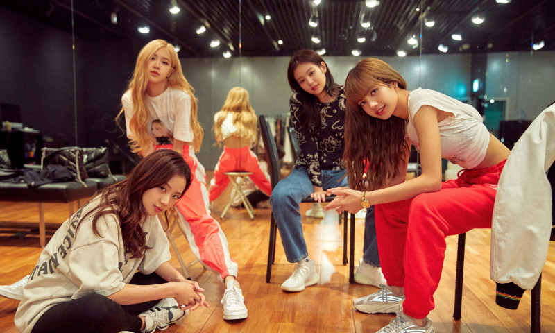 "(L-R) Jisoo, Rose, Jennie and Lisa from Blackpink in an undated still from their Netflix documentary ""BLACKPINK: Light Up the Sky""."