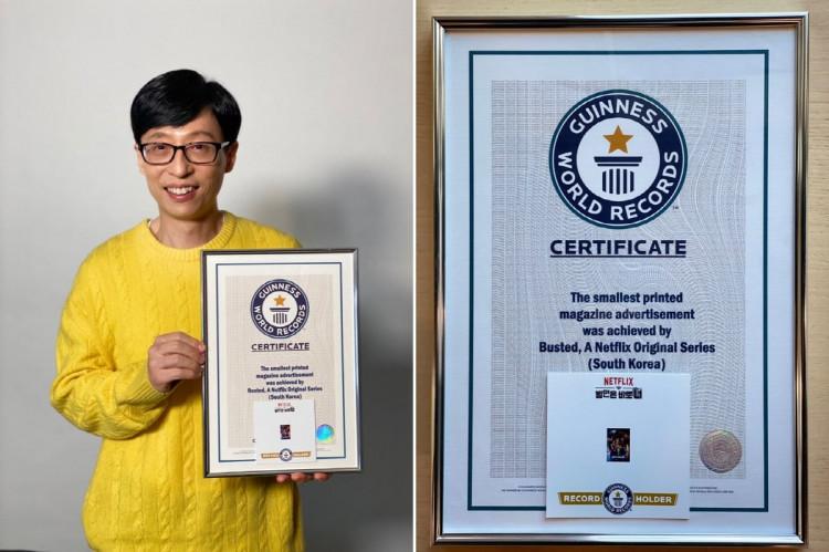 Netflix Korea's Original Show 'Busted!' Writes New Guinness World Records