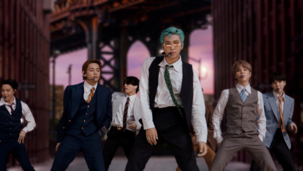 BTS Dynamite Is Not Stepping Down In The Top 50 Of Billboard's Hot 100 Chart