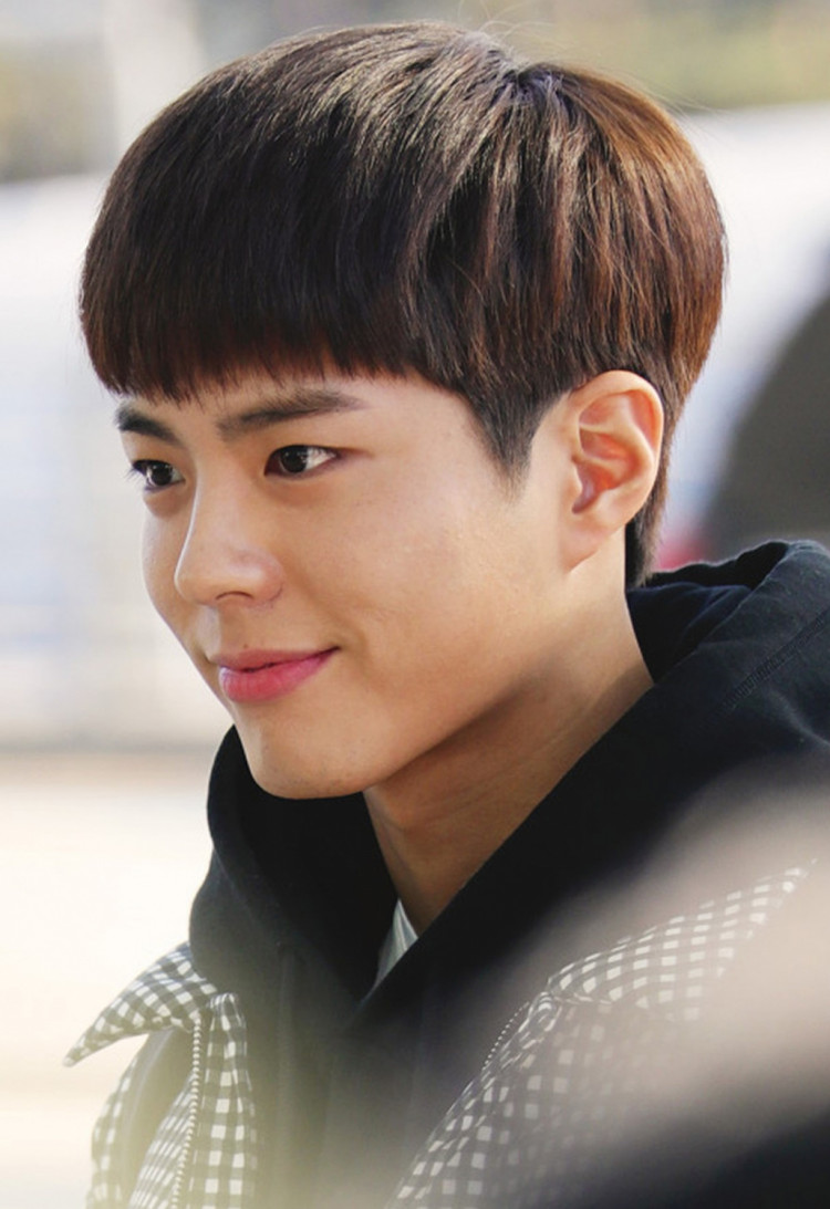 Park Bo Gum Is In Full Smiles Together With The Other Navy Military Band In A Performance Video