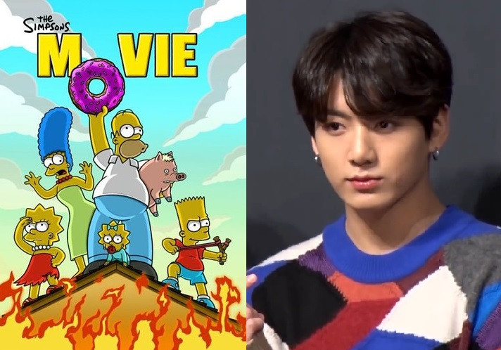 BTS's Jungkook Receives A Special Mention In Famous American Series' The Simpsons'