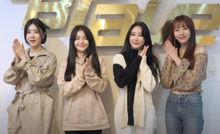 Tears of joy started to flow when brave girls took their first win since debut on 'Inkigayo'