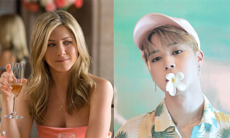 BTS Jimin's Charms Catches The Attention of The Famous 'Friends' Actress Jennifer Aniston